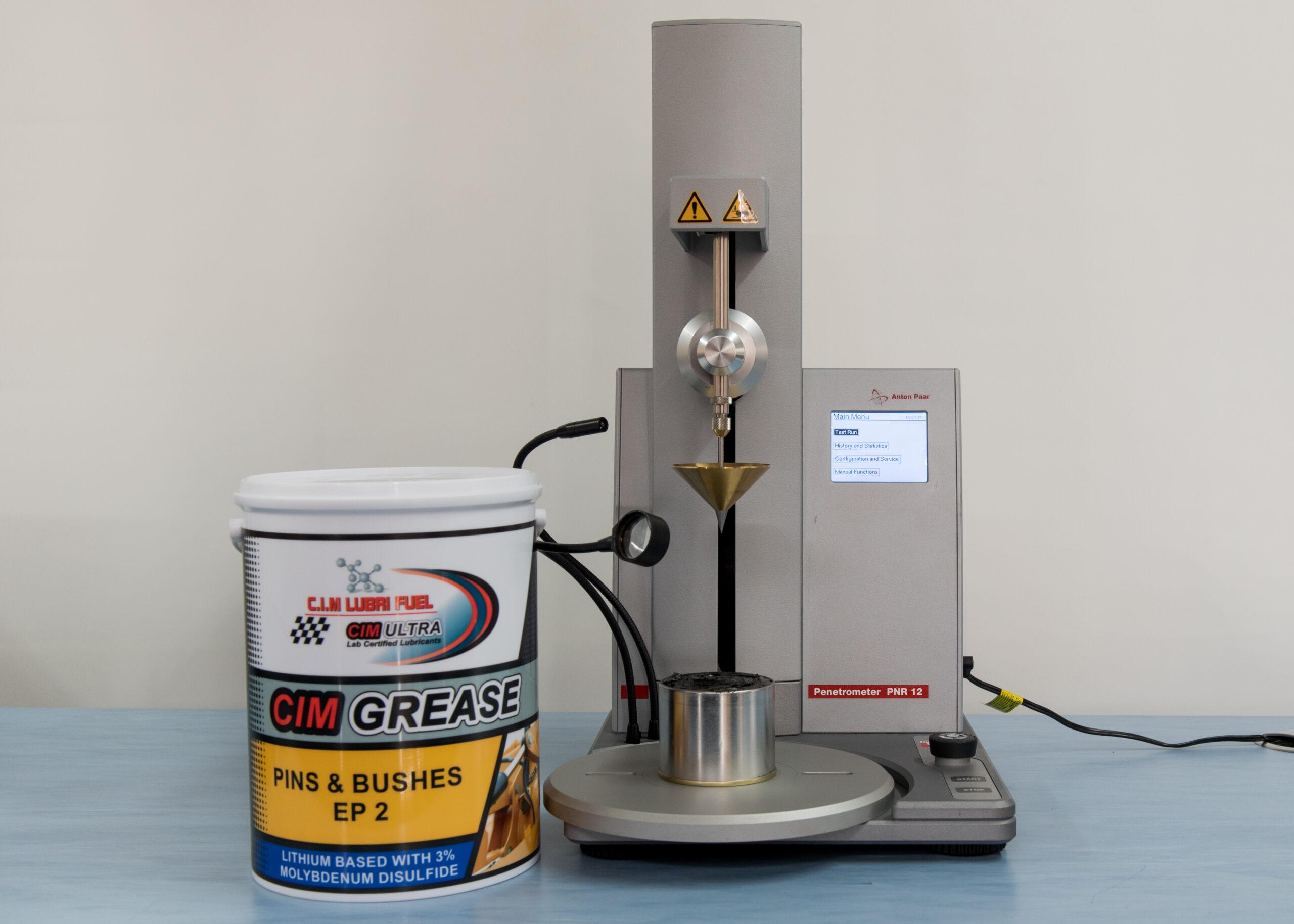 C.I.M. Lubri Fuel C.I.M`s Penetrometer