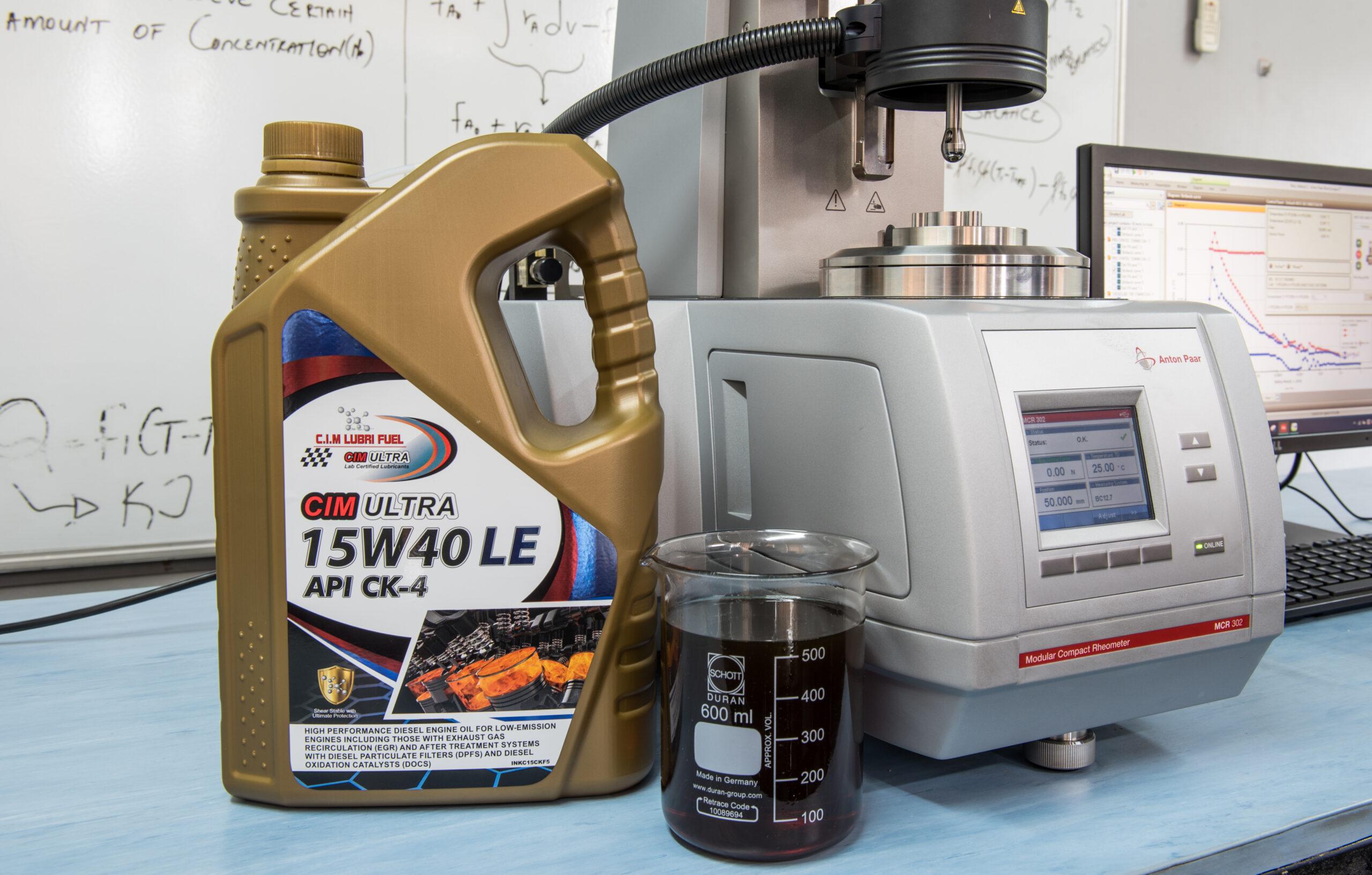 C.I.M. Lubri Fuel Rheology
